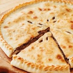 Осетинский пирог с мясом «Фыджын»
